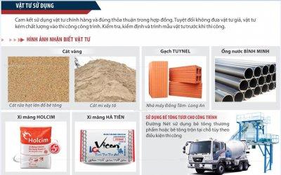 Lưu ý quan trọng khi mua vật liệu xây dựng cho nhà ở
