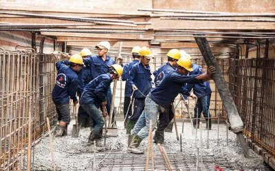 Công tác thi công tầng hầm công trình nhà phố - Quận 2