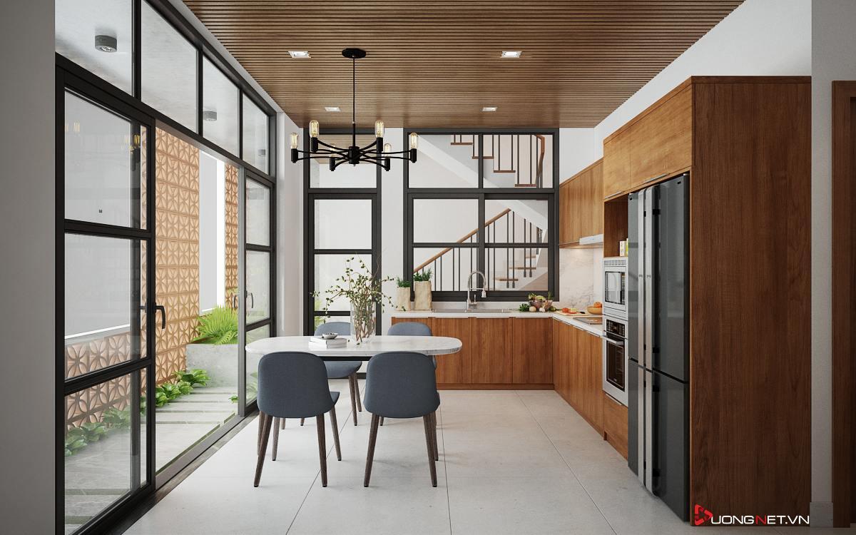 Thiết kế nội thất sáng tạo nhà phố 3 tầng của chị Thúy ở Ninh Kiều - Cần Thơ 1