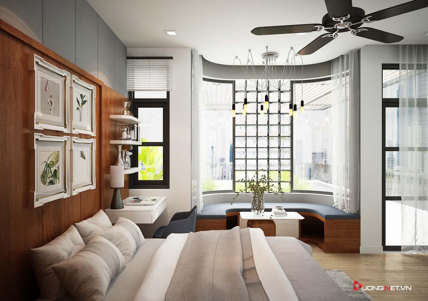Thiết kế nội thất sáng tạo nhà phố 3 tầng của chị Thúy ở Ninh Kiều - Cần Thơ 7