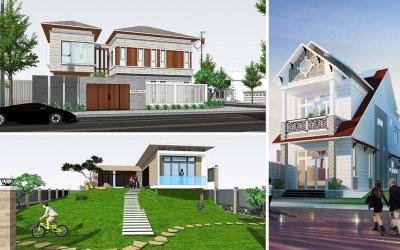 50 Mẫu thiết kế Biệt Thự đẹp mới nhất (Phần 1) - Duongnet.vn