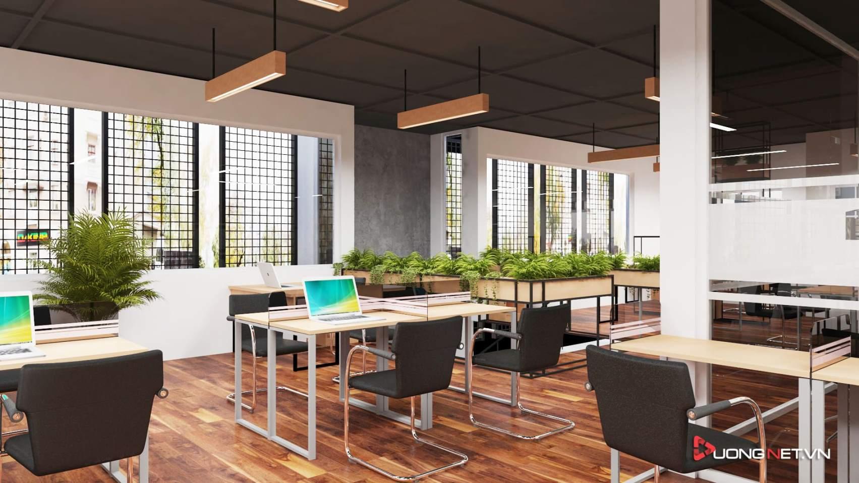 Thiết kế nội thất sáng tạo tại công ty truyền thông Mẹ & Con 5