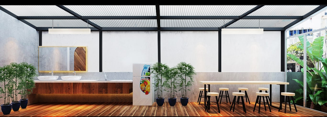 Thiết kế nội thất sáng tạo tại công ty truyền thông Mẹ & Con 6