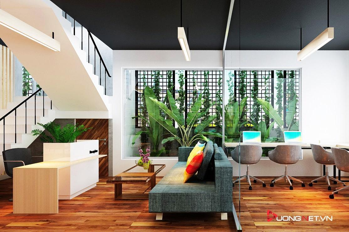 Thiết kế nội thất sáng tạo tại công ty truyền thông Mẹ & Con 2