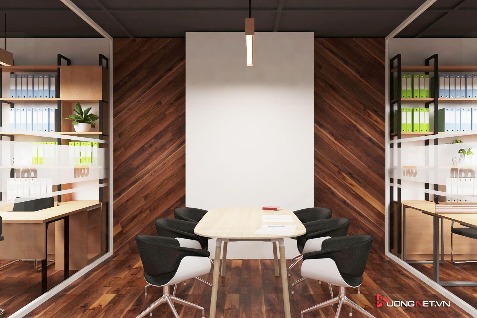 Thiết kế nội thất sáng tạo tại công ty truyền thông Mẹ & Con 4
