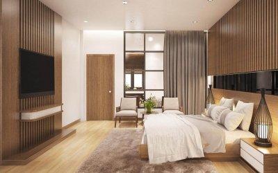 Bí quyết thiết kế phòng ngủ theo kiến trúc nhà tối giản vô cùng đơn giản
