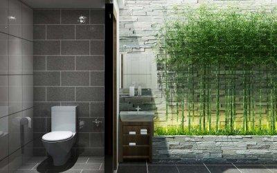 Bí quyết bố trí, thiết kế nội thất tối giản phòng tắm hợp phong thủy