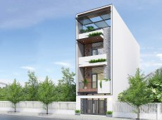 Khoi House | Nhà phố 4 tầng