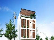 D8 House - Nhà phố 4 tầng
