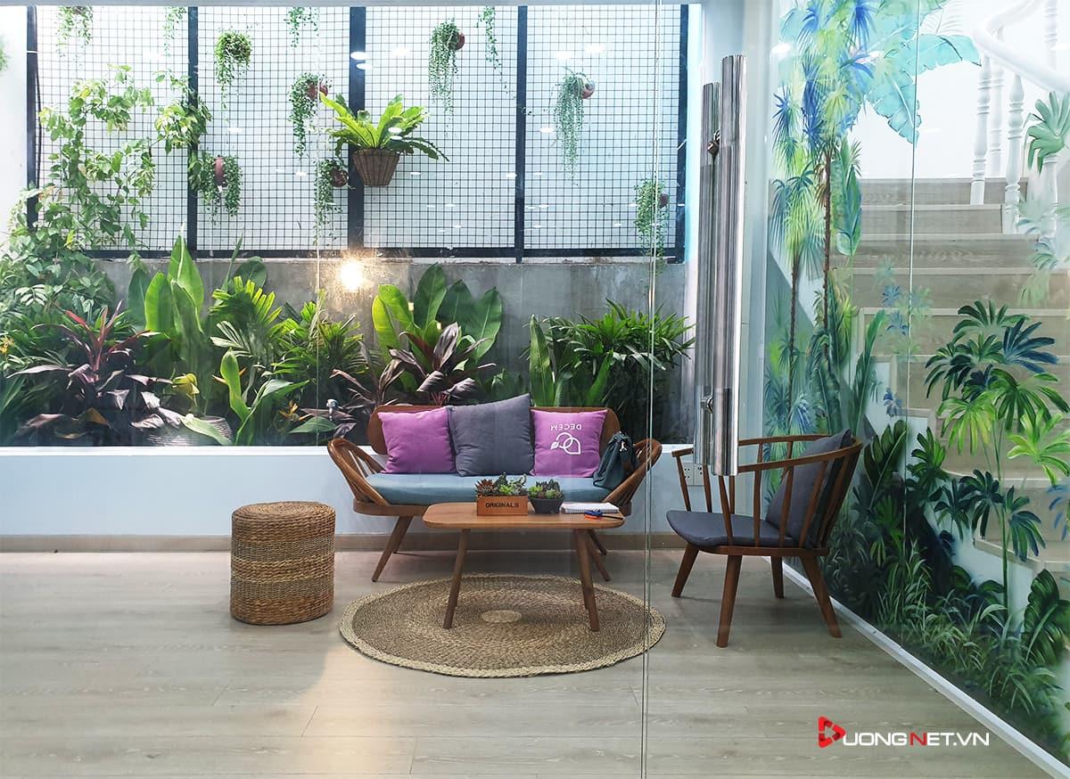 Thiết kế nội thất sáng tạo tại công ty truyền thông Mẹ & Con 9