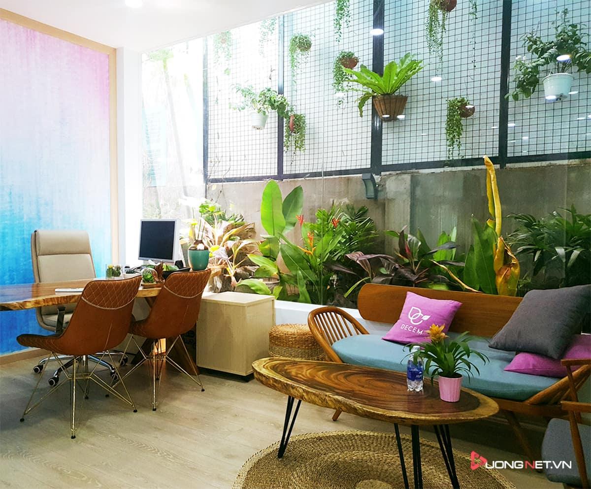 Thiết kế nội thất sáng tạo tại công ty truyền thông Mẹ & Con 8