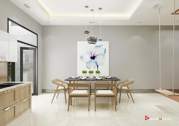 Phối màu trong nội thất tối giản