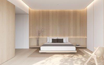 Top 4 mẫu nhà tối giản đẹp với thiết kế nội thất gam màu trung tính
