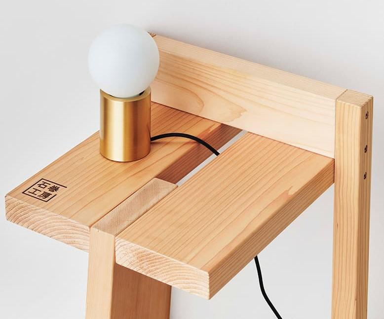 Mẫu ghế 3 chân siêu nhẹ (the Tripodal stool) 2