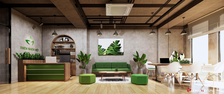 Thiết kế nội thất sáng tạo văn phòng 5 tầng Thiên Nhiên Việt 4
