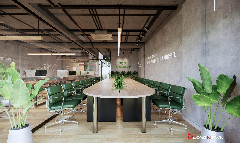 Thiết kế nội thất sáng tạo văn phòng 5 tầng Thiên Nhiên Việt 5