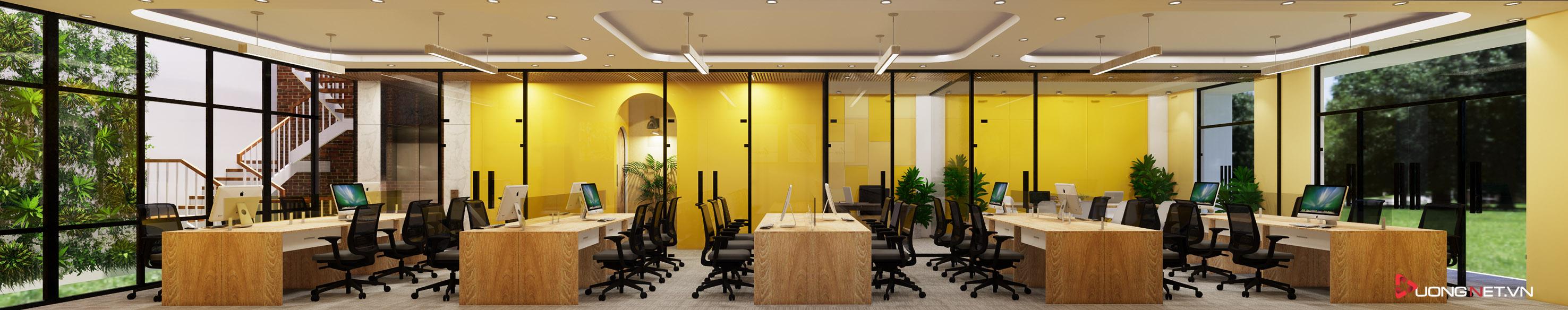 Thiết kế nội thất sáng tạo văn phòng 5 tầng Thiên Nhiên Việt 6