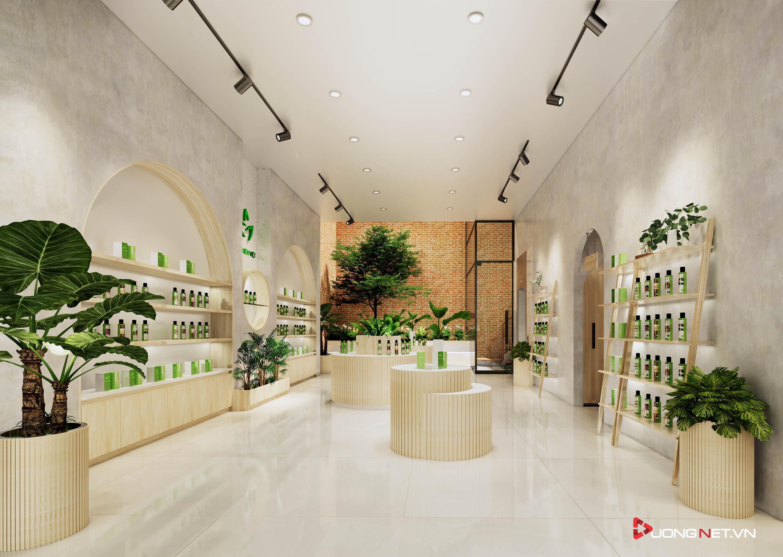 Thiết kế nội thất sáng tạo văn phòng 5 tầng Thiên Nhiên Việt 1