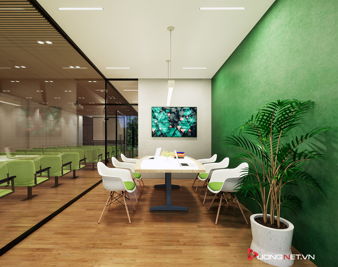 Thiết kế nội thất sáng tạo văn phòng 5 tầng Thiên Nhiên Việt 8