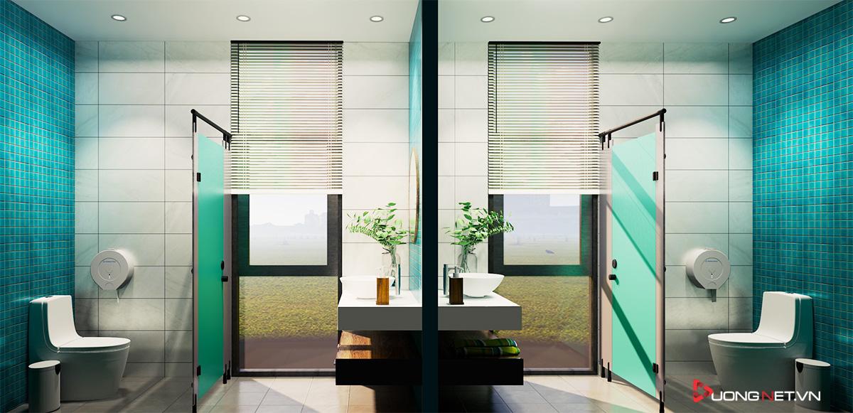 Thiết kế nội thất sáng tạo văn phòng 5 tầng Thiên Nhiên Việt 10