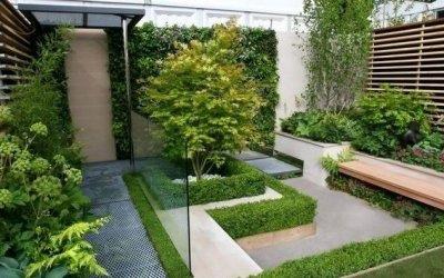 Vận dụng kiến trúc tối giản Nhật Bản trong thiết kế sân vườn phong cách Patio
