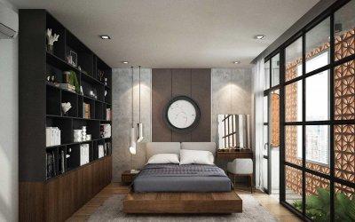 Những ý tưởng thiết kế phòng ngủ tối giản