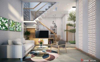 Kiến trúc tối giản phòng khách - những nguyên tắc cần biết